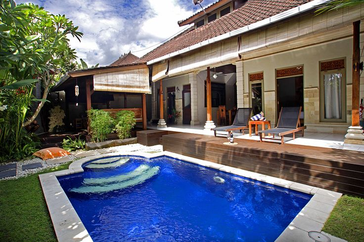 Experience Balinese holiday home #VillaLitan #Seminyak, 2-bedrooms, bunk beds, great for family with kids. From $150
