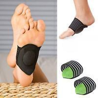 Foot Heel Pain Relief Plantar Fasciitis Insole Pads & Arch Support Shoes Ins