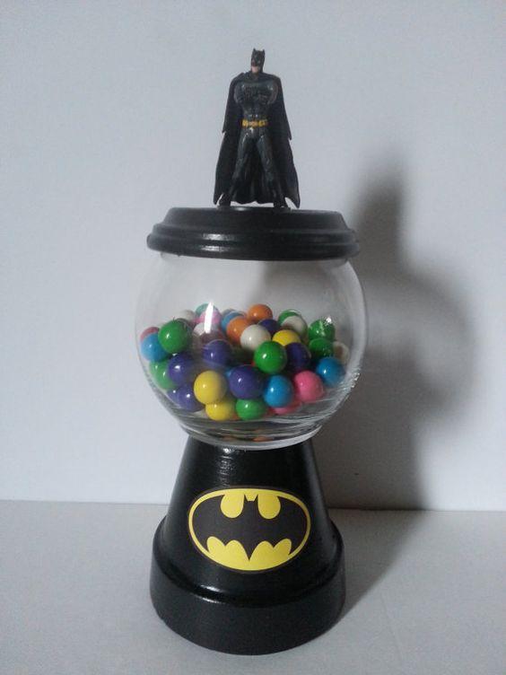 Batman Gumball Centerpiece by DiamondsCraftsnmore on Etsy