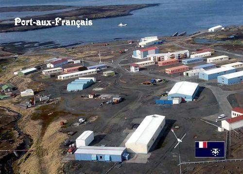 Kerguelen Islands Port aux Français Base Aerial View New Postard                                                                                                                                                     More
