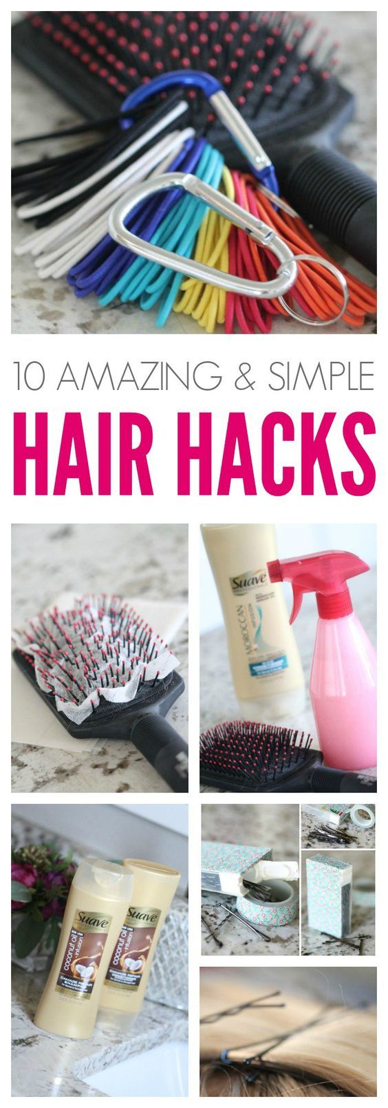 Hair Hacks that Will Blow Your Mind! 10 Hair Hacks that are simple and help save your time, money, and sanity!