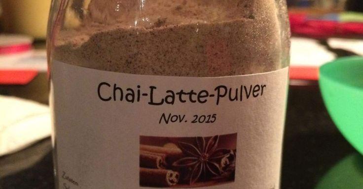 Chai-Latte-Pulver