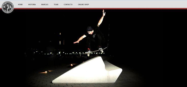 Conflict Skateboards Website