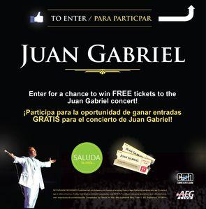 Juan Gabriel Concert Tickets!