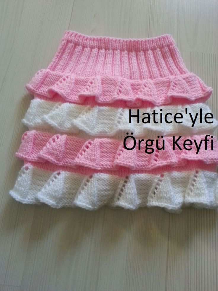 A very stylish skirt for our girls. 1 year old Materials …