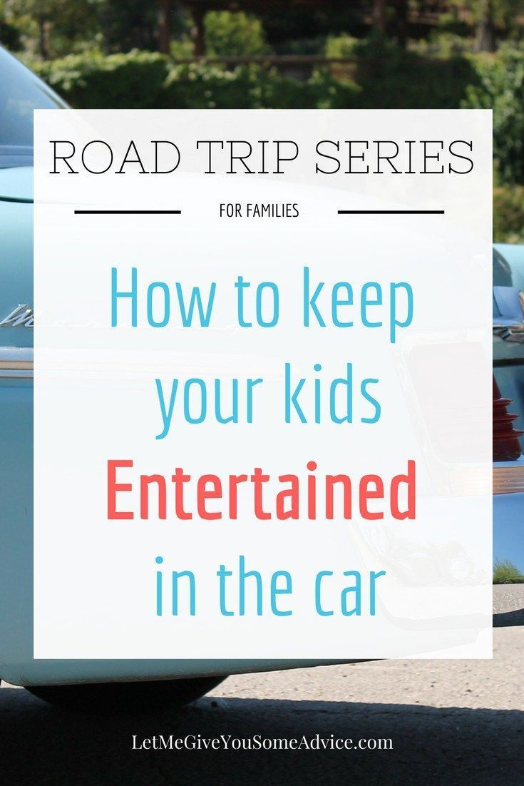 Road Trip Series for Families Part Three - How to Keep Kids Entertained on the Road. Keeping everyone in the car happy is easy with this simple tip!