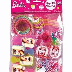 Party Time Celebrations  - Barbie Party Favours Pack, $22.95 (http://www.partytimecelebrations.com.au/barbie-party-favours-pack/)
