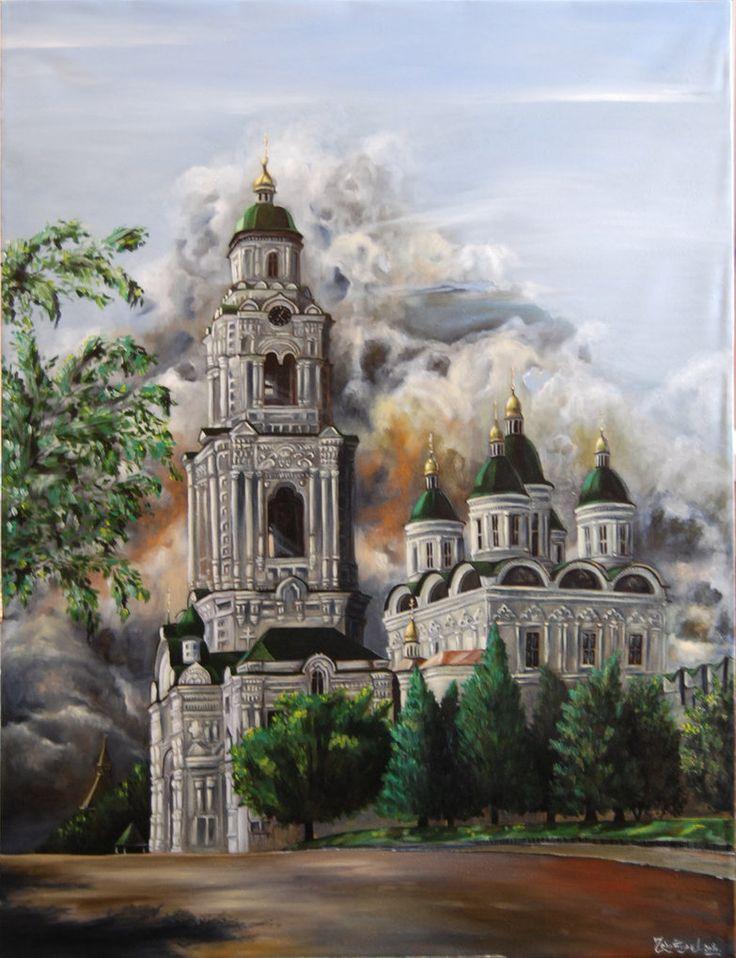 oil on canvas, 70 x 50 cm