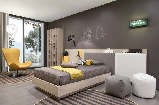 Letto Bed45 by Zalf | Single beds
