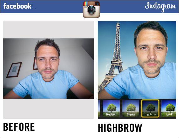 Nuevos filtros de Instagram por Facebook.