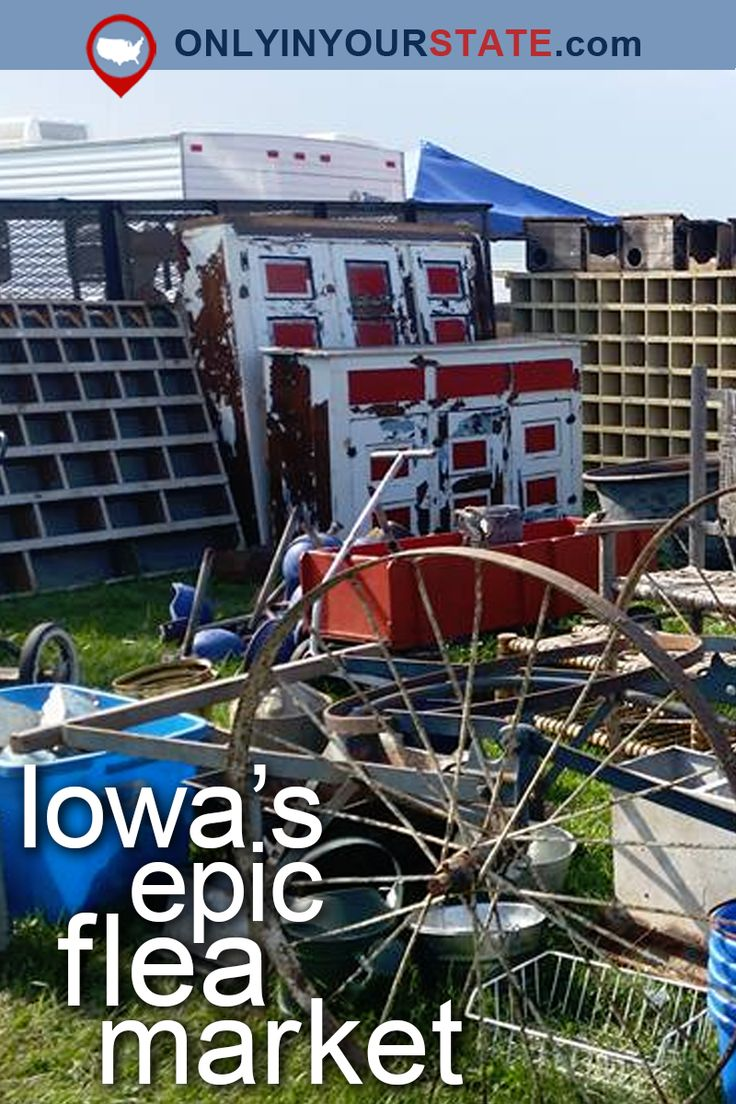 Travel | Iowa | USA | Attractions | Small Town | Flea Market | Day Trips | Destinations | Things To Do | Shopping | Vintage | Thrifting | Bargain Hunting | Bucket List | What Cheer Flea Market | Treasures | Hidden Gems | Campground