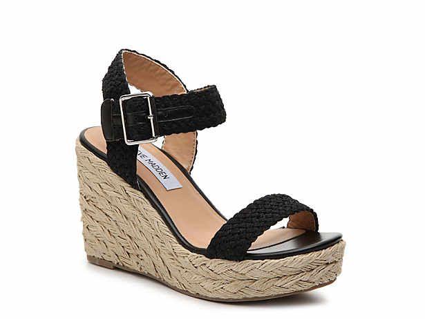 DSW   Espadrilles wedges, Wedge sandals