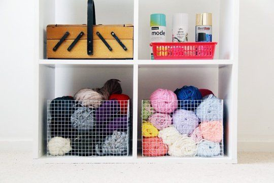 DIY Wire Mesh Baskets — Fall for DIY