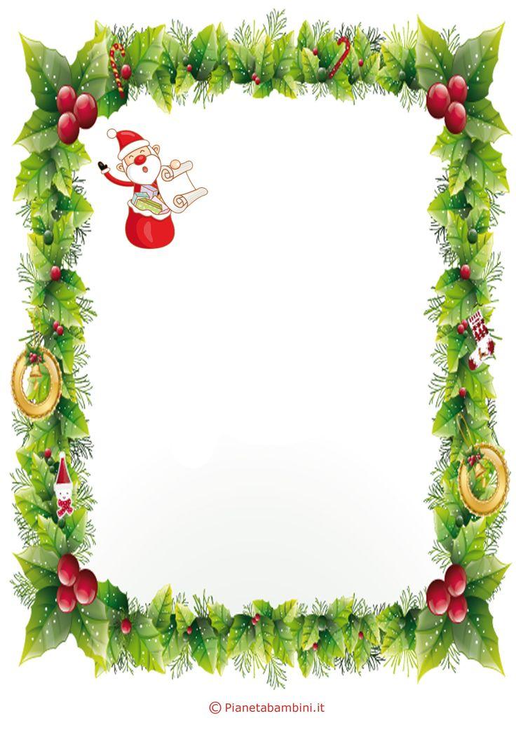 Lettera a Babbo Natale versione 4 da stampare gratis