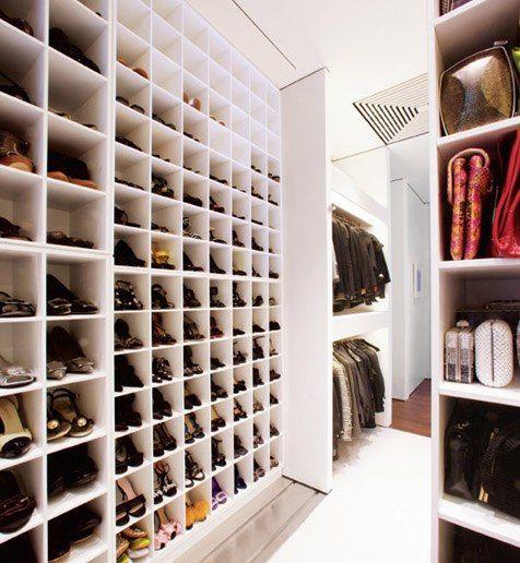 Capitol Improvement Shoe Closet Architecture Photo And