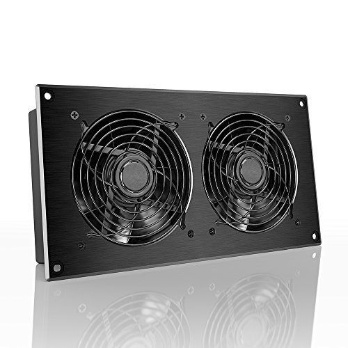 Product Description The #high airflow fan system is designed for cooling equipment closets, rooms, and cabinets. Utilizing high static pressure fans certified by...