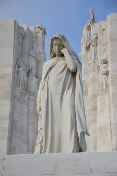 Mother Canada - Vimy Ridge Memorial, Vimy Ridge, France