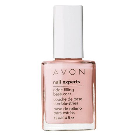 You will love this product from Avon: Nail Experts Ridge Filling Base Coat