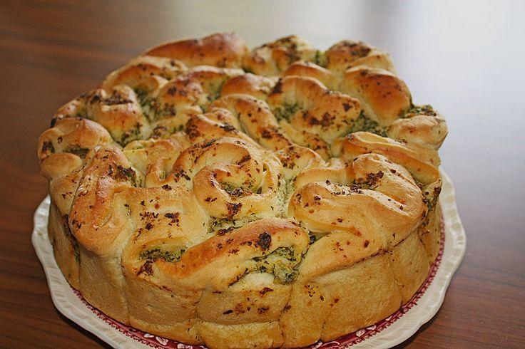 Knoblauch - Faltenbrot, ein leckeres Rezept aus der Kategorie Brot und Brötchen. Bewertungen: 483. Durchschnitt: Ø 4,7.