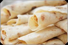 Lefse. A Norwegian tradition served with butter & cinnamon sugar. A tradition in every Norwegian home!