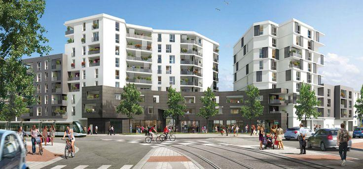 Investissement immobilier à #Strasbourg. Investir en Loi Duflot dans une résidence remarquable