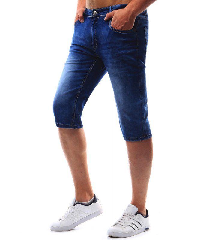 Nohavice džinsové pánske. Modré. Zapínanie na lesklý zips. Dve vrecká a vrecko na prednej strane. Dve vrecká na zadnej strane. Výborné na celodenné nosenie.