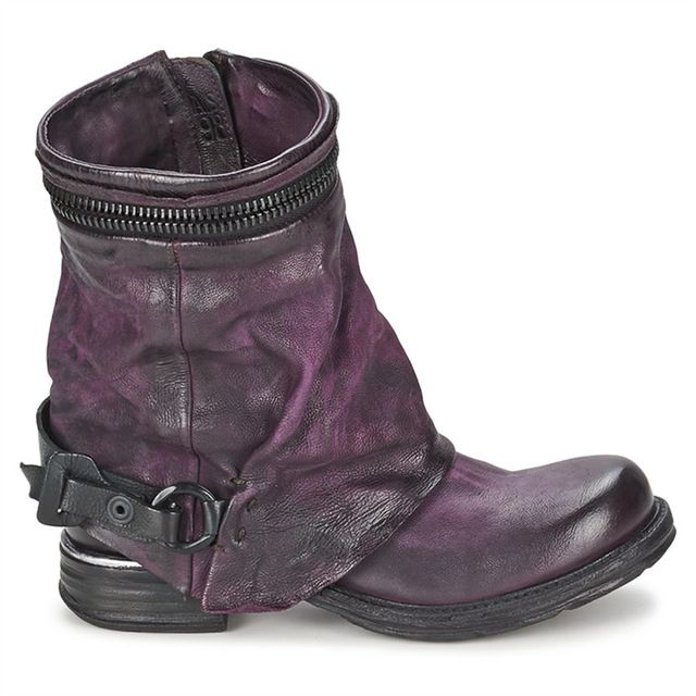 Purple Genuine Leather Women Motorcycle Boots. My kingdom for these boots with proper armour. Sad panda.