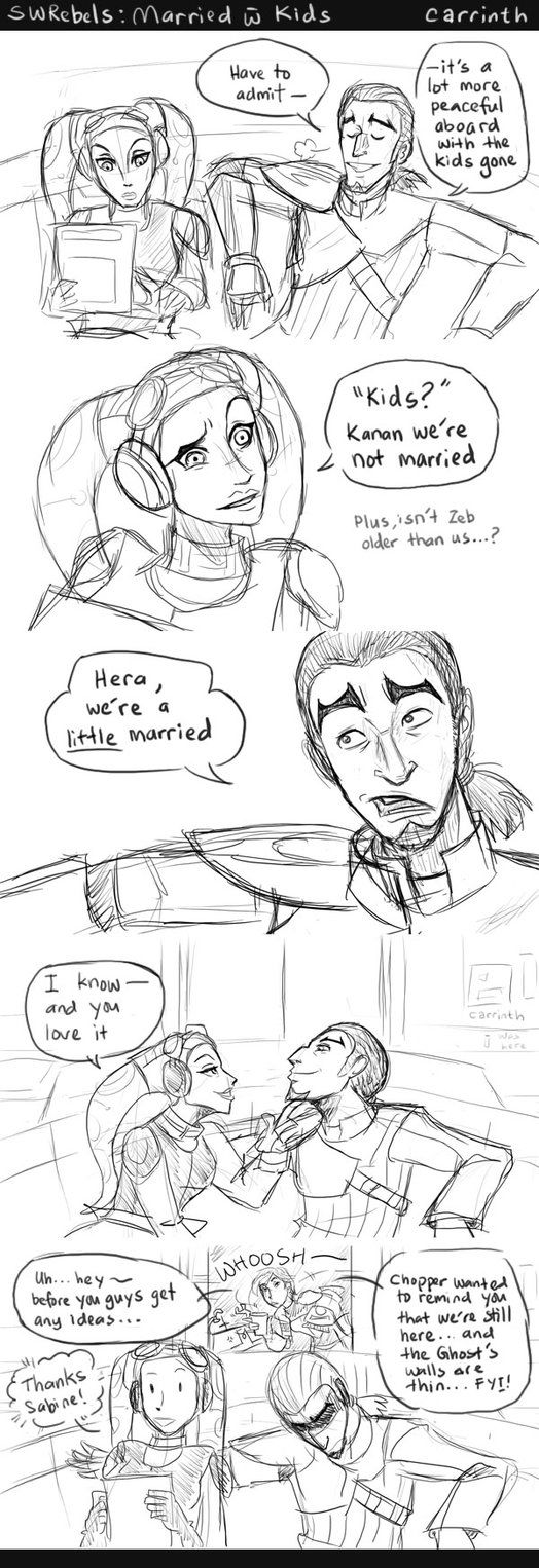 Based on a conversation from Tumblr:carrinth.tumblr.com/post/12592… Medical Droid: Do you smoke sentient? Kanan: Only when I'm on fire! Most brilliant of comebacks!