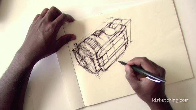 IDSKETCHING.COM: Camera sketch Part 1 on Vimeo