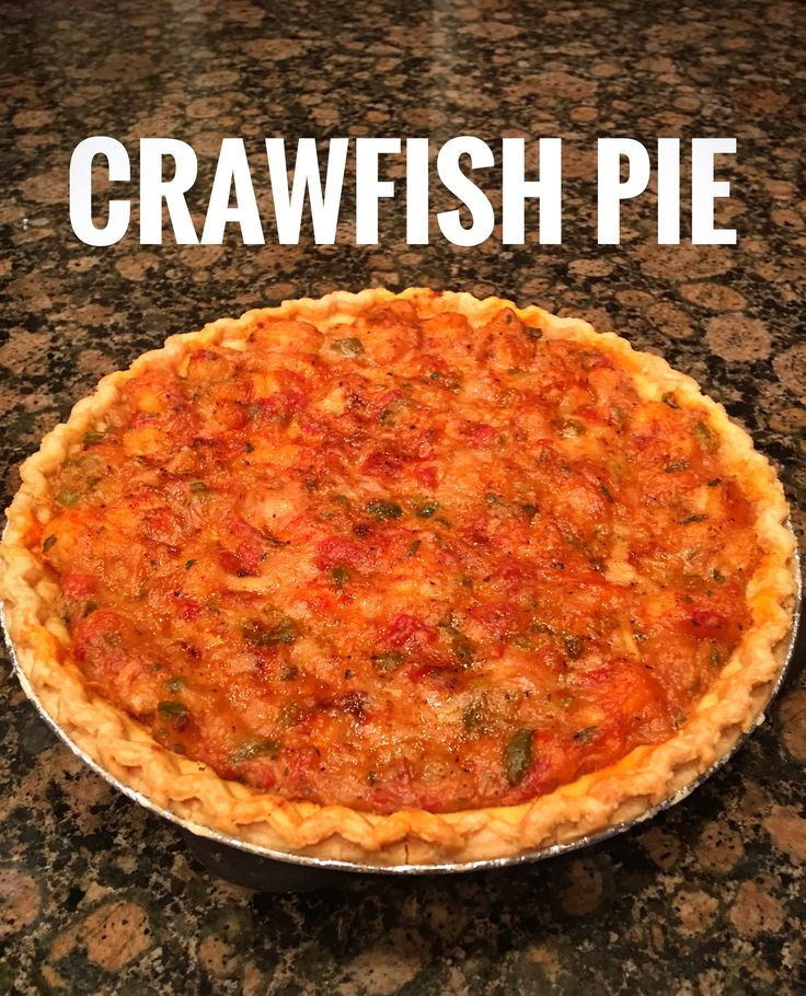 CRAWFISH PIE  1 Stick of Salted Butter 1/2 Cup of Flour 2 Onions 2 Sticks of Celery 1 Bell Pepper 4 Cloves of Garlic Small amount of Olive Oil 1 (10 oz) Can of Drained Mild Rotel  1 Cup of Chicken Broth 1 Tablespoon of Cajun/Creole Seasoning  1 Tablespoon of Parsley Flakes 1 Teaspoon of Pepper 1 Teaspoon of Worcestershire Sauce 1/2 Pint of Heavy Cream 2 lbs of Crawfish Tails 1/4 Cup of Milk Paprika (optional) 2 (9 inch) Raw Deep Dish Pie Crusts *(Or 12 miniature tart pie crusts)*