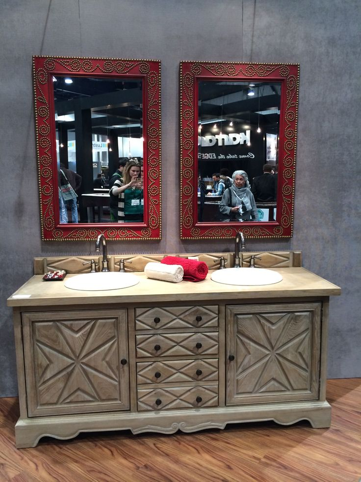 An Attractive Bathroom Vanity At KBIS