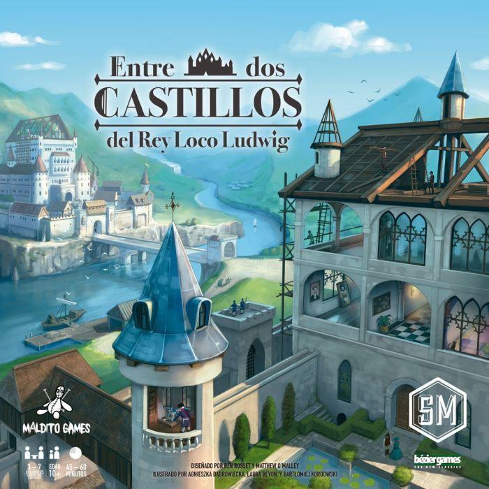 Entre Dos Castillos Del Rey Loco Ludwig Castillos Juegos De Mesa Juegos De Tablero