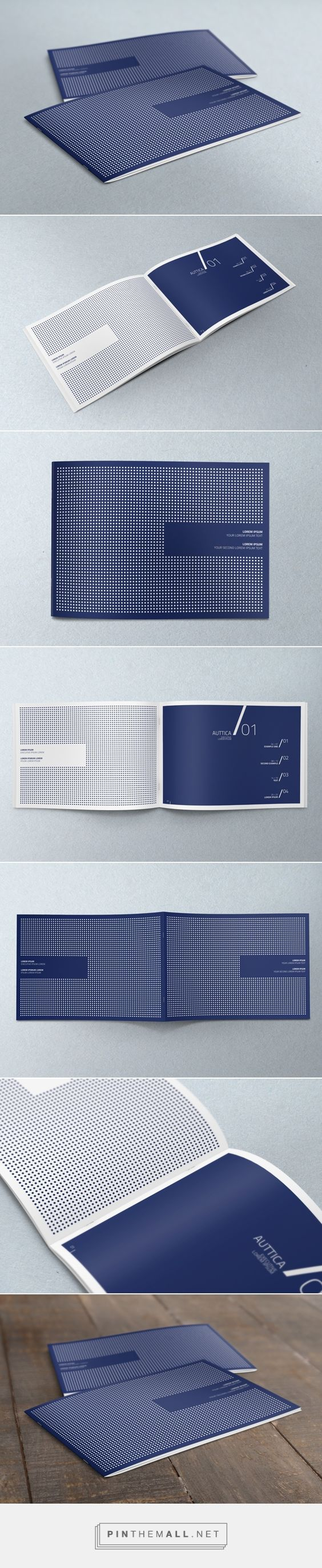 Horizontal A4 Brochure Mock-up by yogurt86 design studio: