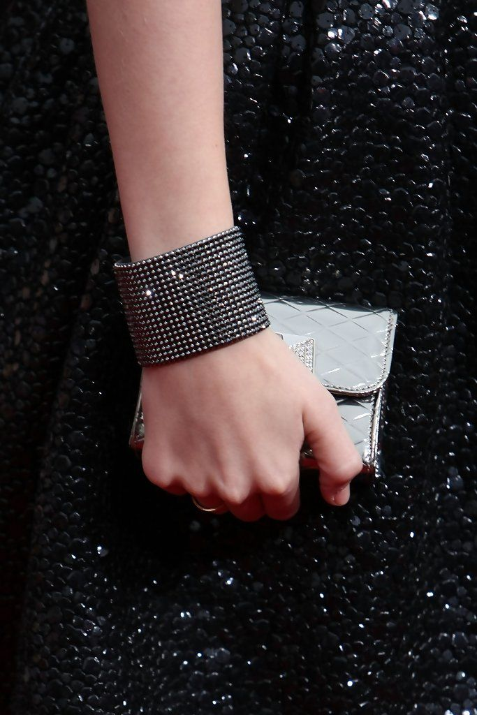 These Swarovski crystals are sure to sparkle on the popular country singer on the red carpet.