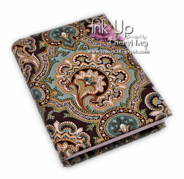 Ink Up: Elegant Paisley Case Bound Journal with handsewn headbands