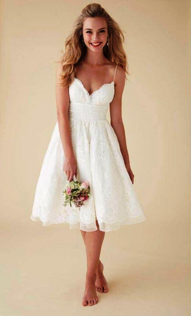20 Wunderschöne Kurze Brautkleider Ideen Für Sie