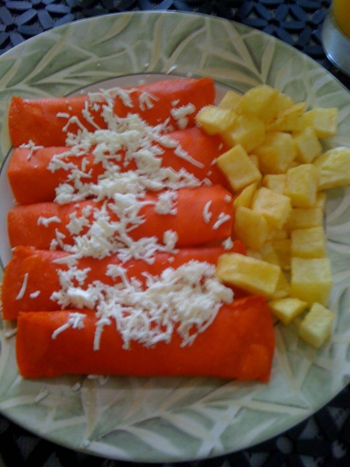 Enchiladas norteas caseras express tortillas rojas