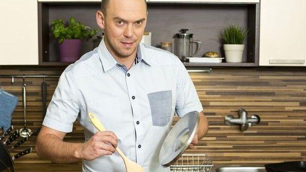 Láďa Hruška vařící