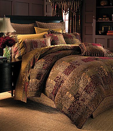 Croscill Galleria Red Bedding Collection Dillards Ropa
