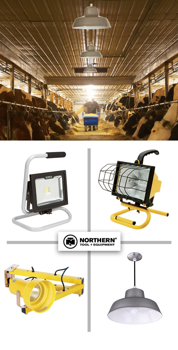 Light Up Your Work Space With Barn Lights, Mountable Work Lights + Portable  Work Lights