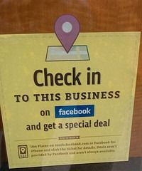 http://abichiropracticsoftware.com/how-to-promote-your-chiropractic-clinic-using-3-step-facebook-check-in/  Facebook check-in is a powerful way to promote your chiropractic clinic.  Your patients can start a word of mouth buzz about your practice simply by checking in on their Facebook using their iPhone or Android.