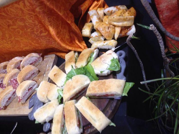 panini imbottiti #buffet #aperitivo Milk & Coffee