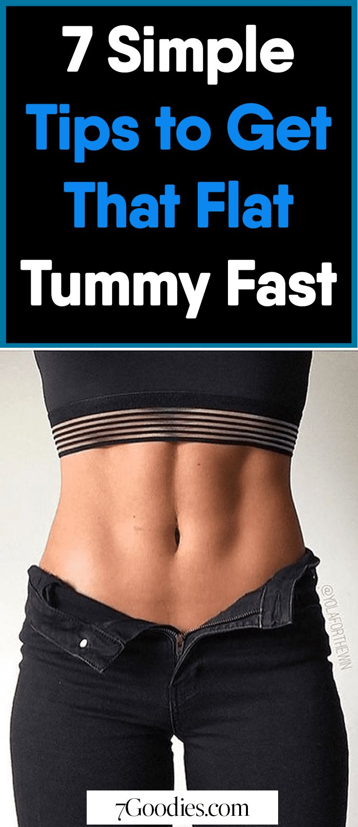 simple healthy tips to reduce belly fat and get a flat tummy