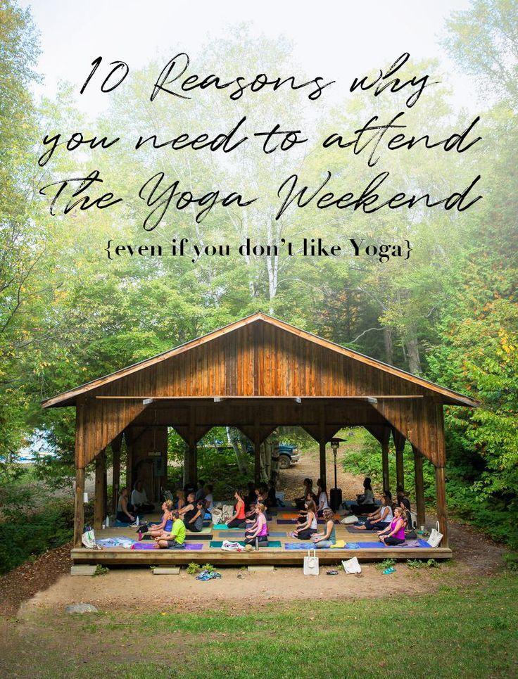 Ontario S Best Overnight Yoga Retreat Is Set At A Kids Camp In 2020 Yoga Retreat Yoga Ontario Camping