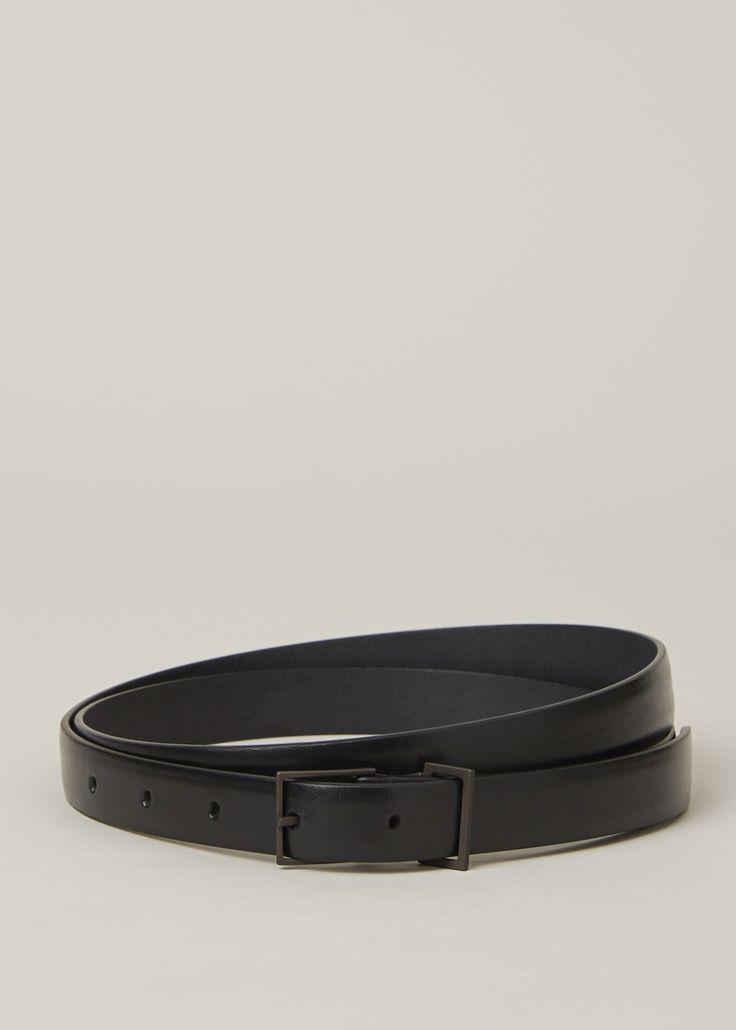 D-ring belt - Black Maison Martin Margiela KBdkOOR67