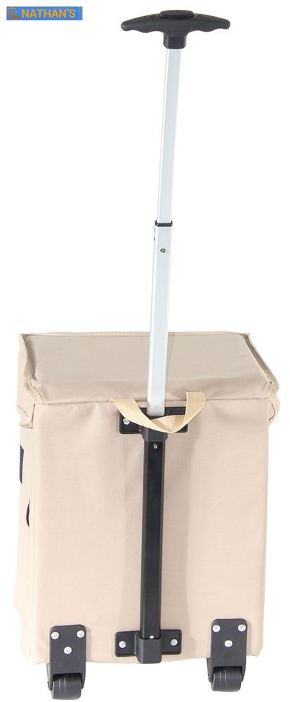 Portable Rolling Shopping Cart Basket Storage Folding On Wheel Utility Grocery  | eBay
