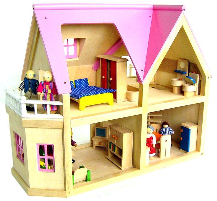 Large Wooden Dolls House by JaimesLullaby on Etsy https://www.etsy.com/listing/237284952/large-wooden-dolls-house