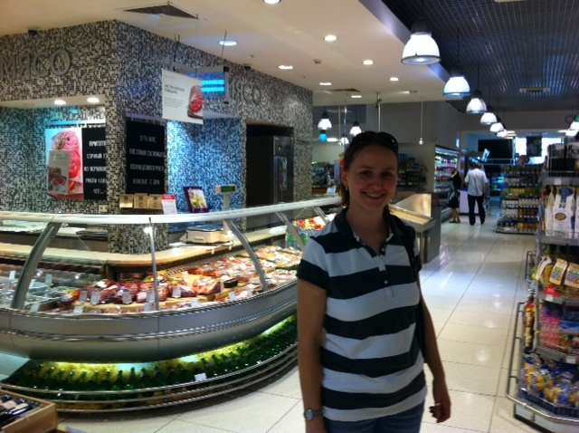 In-store deli at Alphabet of Food, Moscow (2012)