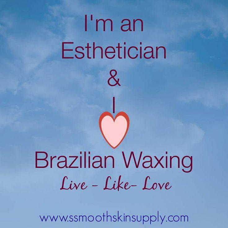 I'm an Esthetician and I love my 7-min Brazilian Wax ❤️ #esthetician #brazilianwaxing