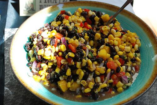 Pirate Party Food Ideas | Pirates of the Caribbean Black Bean Mango Salsa (hat tip to Tricia and ...